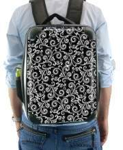 Sac à dos pour black and white swirls