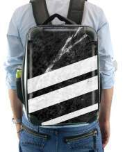 Sac à dos pour Black Striped Marble