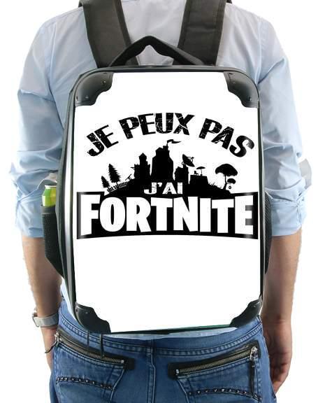 I cant i have Fortnite for Backpack
