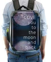 Sac à dos pour I love you to the moon and back