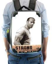 Sac à dos pour Jason statham Strong is my name