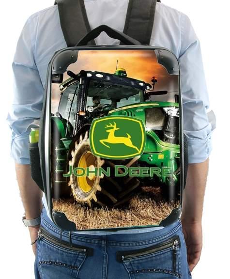 John Deer tractor Farm für Rucksack