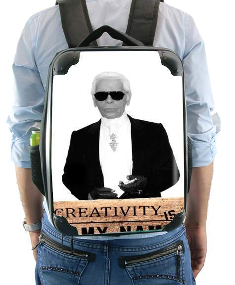Karl Lagerfeld Creativity is my name for Backpack