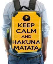 Sac à dos pour Keep Calm And Hakuna Matata