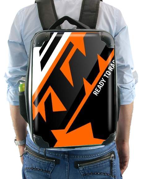 KTM Racing Orange And Black for Backpack