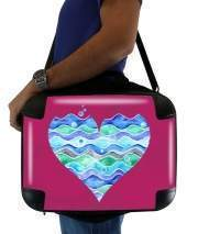 "Sacoche Ordinateur 15"" pour A sea of Love (purple)"