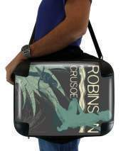 "Sacoche Ordinateur 15"" pour Book Collection: Robinson Crusoe"