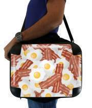 "Sacoche Ordinateur 15"" pour Breakfast Eggs and Bacon"