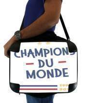 "Sacoche Ordinateur 15"" pour Champion du monde 2018 Supporter France"