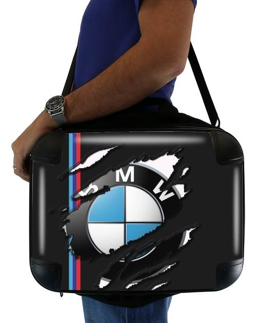 "Fan Driver Bmw GriffeSport for Laptop briefcase 15"" / Notebook / Tablet"