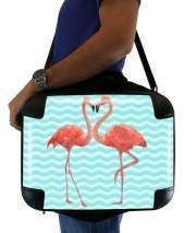 "Sacoche Ordinateur 15"" pour flamingo love"