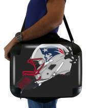 "Sacoche Ordinateur 15"" pour Football Helmets New England"