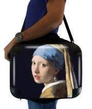 "Sacoche Ordinateur 15"" pour Girl with a Pearl Earring"