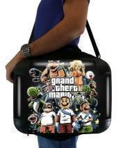 "Sacoche Ordinateur 15"" pour Grand Theft Mario"