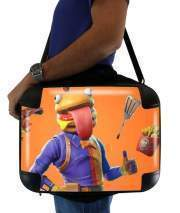 "Sacoche Ordinateur 15"" pour Hamburger Fortnite skins Beef Boss"