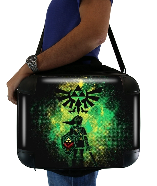 "Hyrule Art for Laptop briefcase 15"" / Notebook / Tablet"