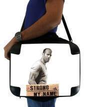 "Sacoche Ordinateur 15"" pour Jason statham Strong is my name"