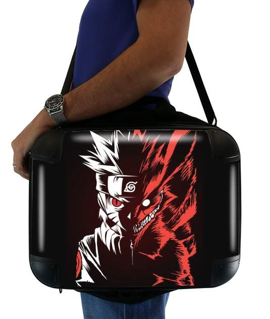 "Kyubi x Naruto Angry for Laptop briefcase 15"" / Notebook / Tablet"