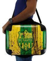 "Sacoche Ordinateur 15"" pour Nantes Football Club Maillot"