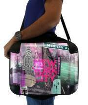"Sacoche Ordinateur 15"" pour New York City II [pink]"