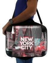 "Sacoche Ordinateur 15"" pour New York City II [red]"
