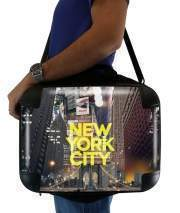 "Sacoche Ordinateur 15"" pour New York City II [yellow]"