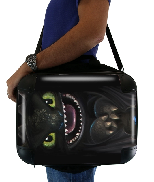"Night fury for Laptop briefcase 15"" / Notebook / Tablet"