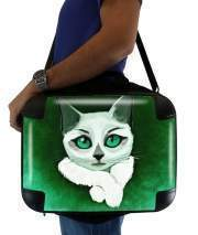 "Sacoche Ordinateur 15"" pour Painting Cat"