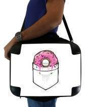 "Sacoche Ordinateur 15"" pour Pocket Collection: Donut Springfield"