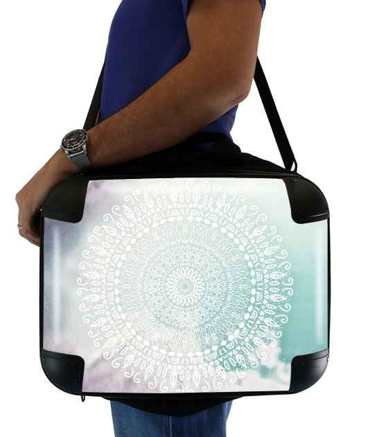 RAINBOW CHIC MANDALA für Computertasche / Notebook / Tablet