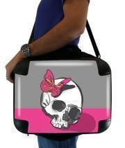 "Sacoche Ordinateur 15"" pour Skull & Butterfly"