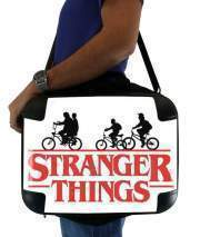 "Sacoche Ordinateur 15"" pour Stranger Things by bike"