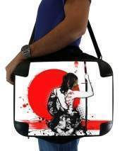 "Sacoche Ordinateur 15"" pour Trash Polka - Female Samurai"
