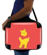 "Sacoche Ordinateur 15"" pour Winnie The pooh Abstract"