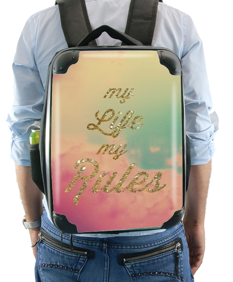 My life My rules for Backpack