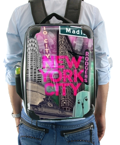 New York City II [pink] for Backpack