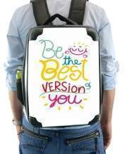 Sac à dos pour Phrase : Be the best version of you