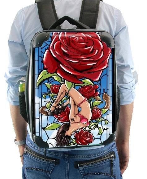 sac dos red roses. Black Bedroom Furniture Sets. Home Design Ideas