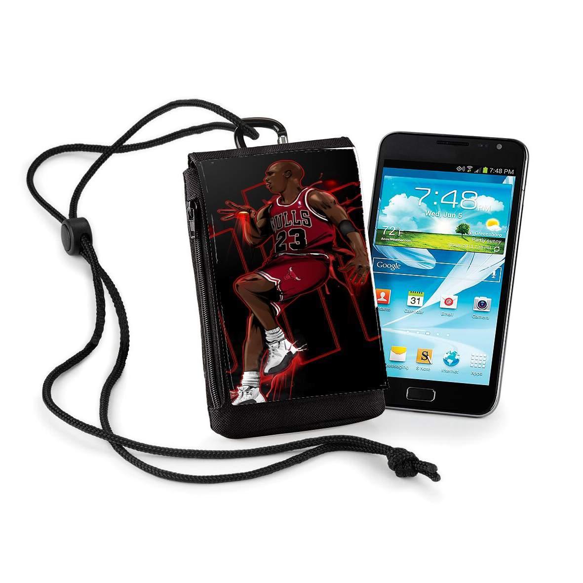 acheter en ligne cc87d 88678 Pochette de téléphone - Taille XL Michael Jordan