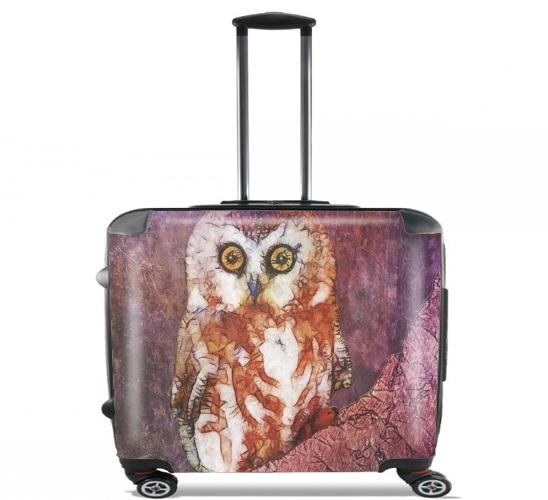 abstract cute owl voor Pilotenkoffer