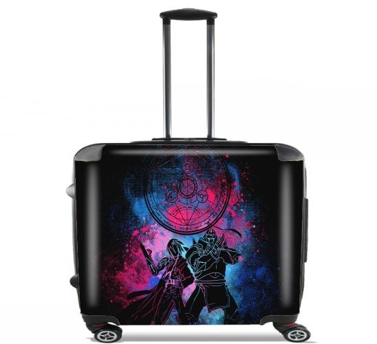 """Alchemist Art für Rollentasche Handgepäck Koffer Trolley 17"""" laptop"""