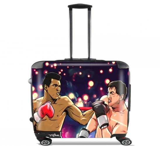 Ali vs Rocky voor Pilotenkoffer