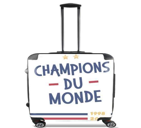 Champion du monde 2018 Supporter France voor Pilotenkoffer