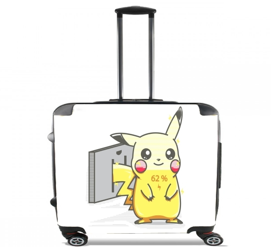 """Charge für Rollentasche Handgepäck Koffer Trolley 17"""" laptop"""