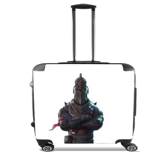 """Black Knight Fortnite for Wheeled bag cabin luggage suitcase trolley 17"""" laptop"""