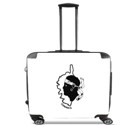 """Corsica for Wheeled bag cabin luggage suitcase trolley 17"""" laptop"""