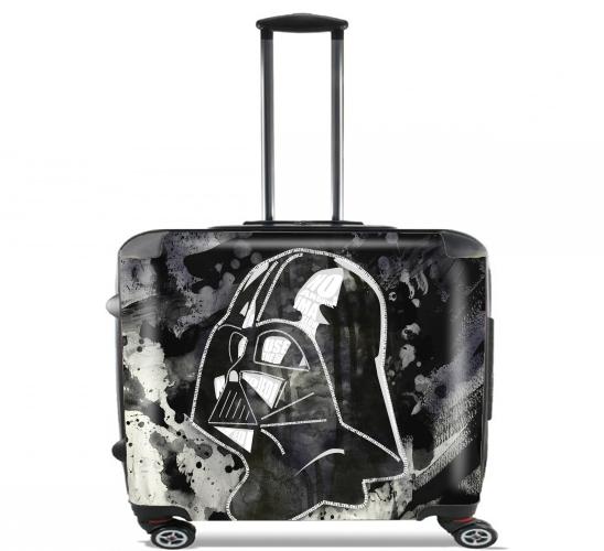 rollentasche handgep ck koffer trolley 17 laptop mit aurelie scour motive. Black Bedroom Furniture Sets. Home Design Ideas