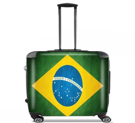 Flag Brasil voor Pilotenkoffer