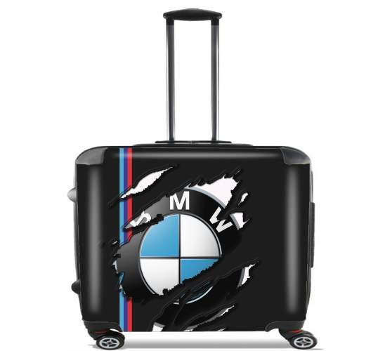 """Fan Driver Bmw GriffeSport for Wheeled bag cabin luggage suitcase trolley 17"""" laptop"""