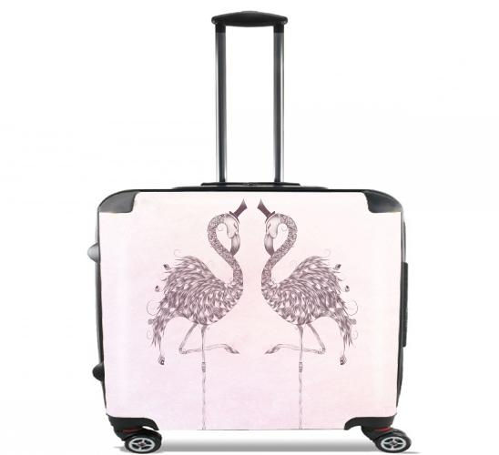 Flamingo voor Pilotenkoffer